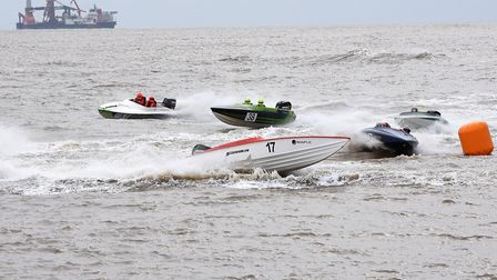 Offshore powerboat racing returning to Lowestoft this weekend. Picture: Mick Howes