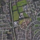 The vehicle fire happened on the B1375Picture: Google Maps