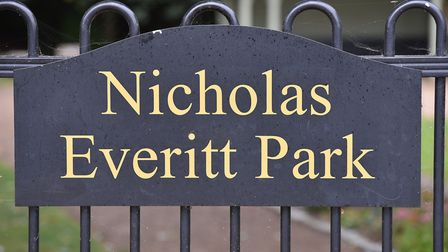Nicholas Everitt Park has won a Gold award in the Anglia in Bloom small park category.Picture: Nick