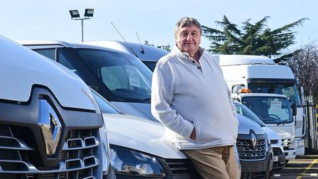 Peter Colby of Peter Colby Commercials who has bought the magistrates court building. Picture: ANTON