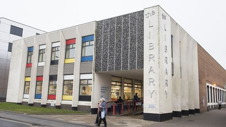 Lowestoft Library. Picture: Nick Butcher