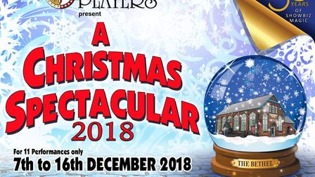 The Lowestoft Players will perform a Christmas Spectacular at The Players Theatre from December 7-1