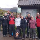 The team from Africa Alive! who conquered the Three Peaks to raise cash for Save the Rhino Picture: