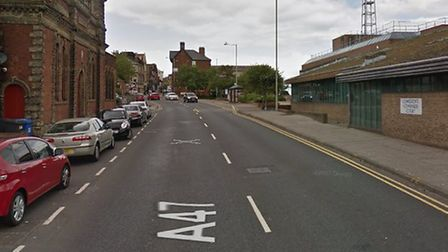 A man has been charged following a police chase in Lowestoft. Photo: Google.