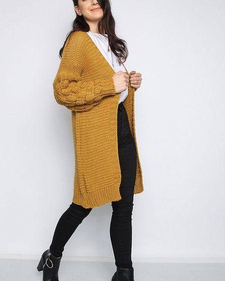 Knitted cardigan from Match, on Suffolk Road, Lowestoft