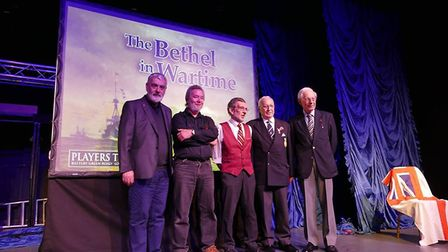The five guest speakers at the Bethel at War event in Lowestoft. PIcture: Bethel at War event organi