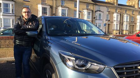 Peter Websdale, who suffers from a restricting medical condition, was slapped with a £170 parking fi