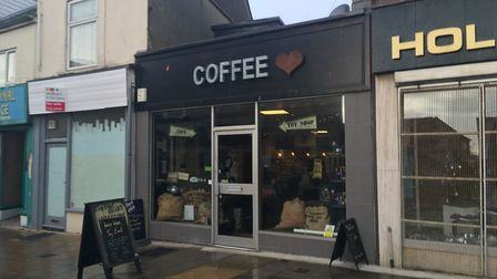 Coffee Heart, London Road North, Lowestoft. Photo: James Carr.