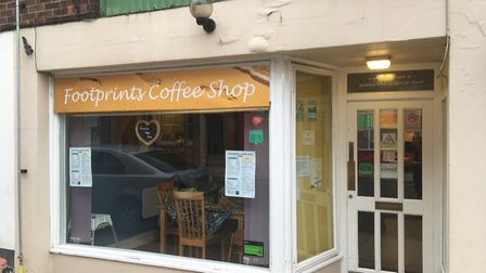 Footprints Coffee Shop, Lowestoft. Photo: James Carr.