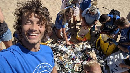 Pure Clean Earth, founded by Dan Reynolds (left) is set to hold a Trashology beach clean-up in Lowes