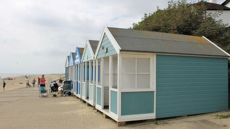 The Folly costs more than 15 times the price of a similar chalet on the Felixstowe seafront, on sale