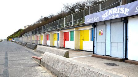 Demolition of the Jubilee Terrace chalets in Lowestoft is set to begin. Picture: Mick Howes