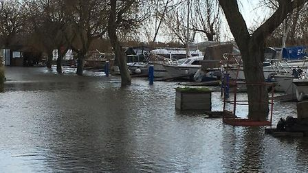 The Environment Agency has removed a flood warning for the River Waveney. Picture: Samantha Stannard