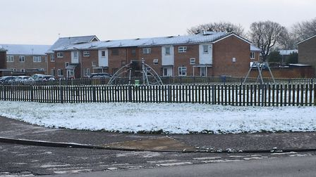 Lowestoft wakes up to a dusting of snow on Wednesday.