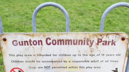 Police are appealing for witnesses after a teenager was punched in the face at Gunton Community Park