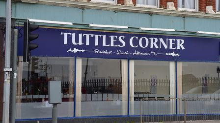 The former site of Tuttles Corner, Lowestoft, has been empty for more than three months. PHOTO: Nic