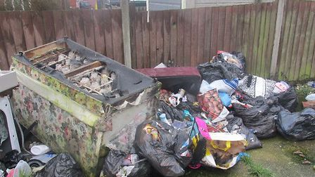 The abatement notice related to a build-up of household and food waste at Miss Weight's property. Pi