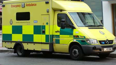A 60-year-old was rushed to hospital