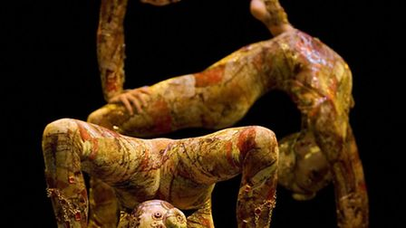 The contortionists. Picture: John Zimmerman