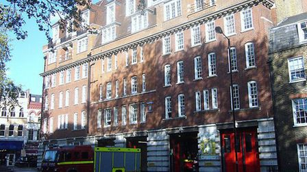 Clerkenwell fire station is earmarked for closure