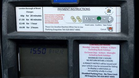 Brent Council might scrap a second increase in parking charges in April