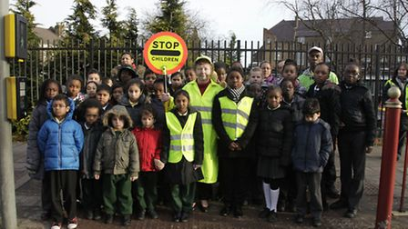 Parents, teachers and pupils are fighting against the decision not to replace the Lollipop Lady at J