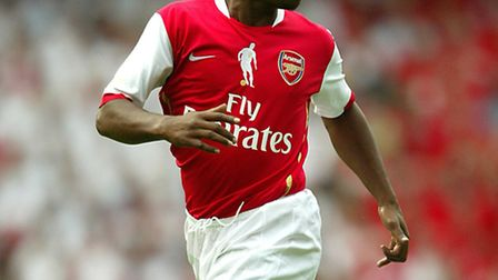 Ian Wright wants a piece of Thierry Henry's pie. Picture: Mike Egerton/EMPICS Sport