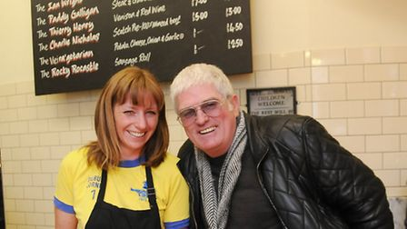 Nicky and Paul Campbell, the duo behind Piebury Corner. Picture: Dieter Perry
