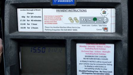 Parking charges in Brent will increase twice this year