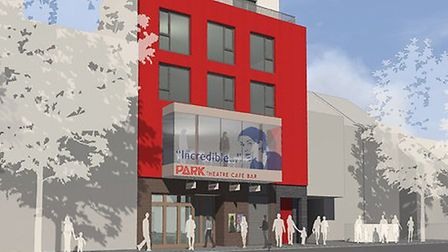 An artist's impression of the Park Theatre