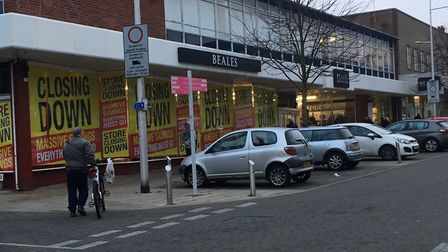 People have been voting on what they want to see replace Beales in Lowestoft. Picture: Mark Boggis