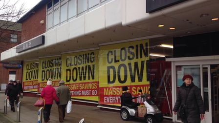 Beales on London Road North, Lowestoft, is set to close its doors. Picture: Mark Boggis