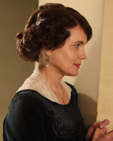 Elizabeth McGovern in her role as Lady Cora in Downton Abbey.