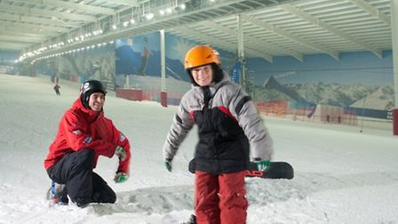 Islington kids can try their hand at snowboarding