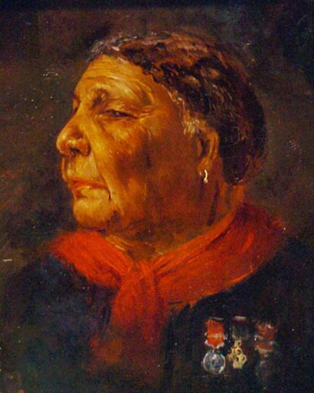 Portrait of Mary Seacole from 1869 (Pic credit: PA/Johnny Green)
