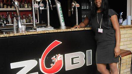 Everyday's Tomorrow director Aisha Deen at Zubi Bar in Holloway Road, Holloway. Picture: Dieter Perr