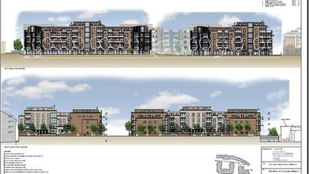 How the proposed development could look if it is given the green light by Barnet Council