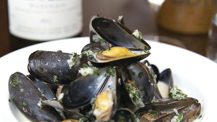 Moules and vin blanc - a classic French combination