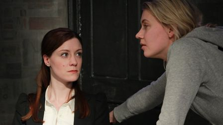 Lila Whelan and Abbiegale Duncan in The Deep Space at the Old Red Lion Theatre