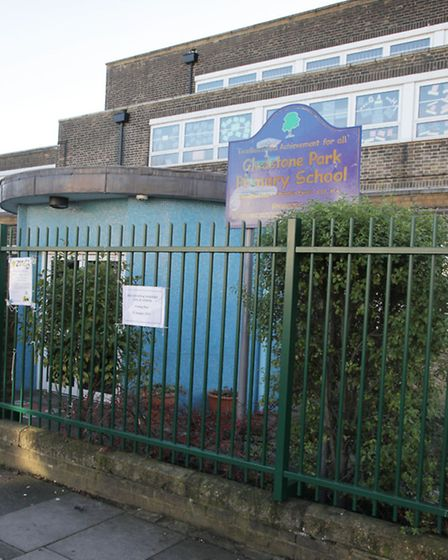 Gladstone Park Primary School has been told it has serious weaknesses (pic credit: Jonathan Goldberg