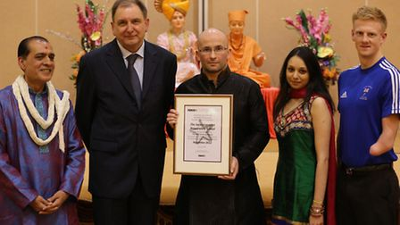 The Swaminarayan School has achieved the prestigious NACE Cymru Challenge Award for More Able and Ta