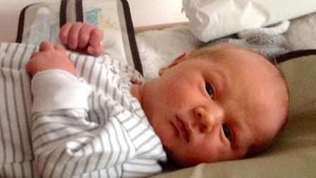 Baby Axel Peanburg King died after being seen several times by out-of-hours GP service, Harmoni. Pic