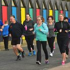 The first ever Lowestoft Park Run along the seafront in 2015. Picture: Nick Butcher
