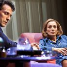 Rufus Sewell as Deeley and Kristin Scott Thomas as Anna in Old Times. Picture: Simon Annand
