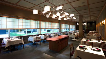Chryan's dining room; Japan meets the City