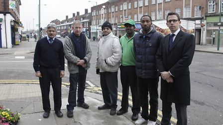 Traders in Preston Road are unhappy with strict parking restrictions which have resulted in a huge i