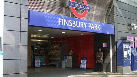 The incident happened at Finsbury Park Tube station