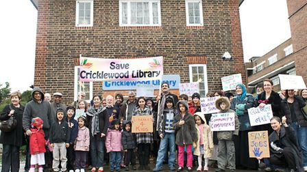 Simon Marcus wants to meet Cricklewood Library campaigners