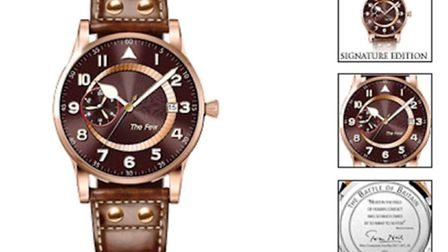 A commemorative watch for The Battle of Britain 70th Anniversary like this has been stolen