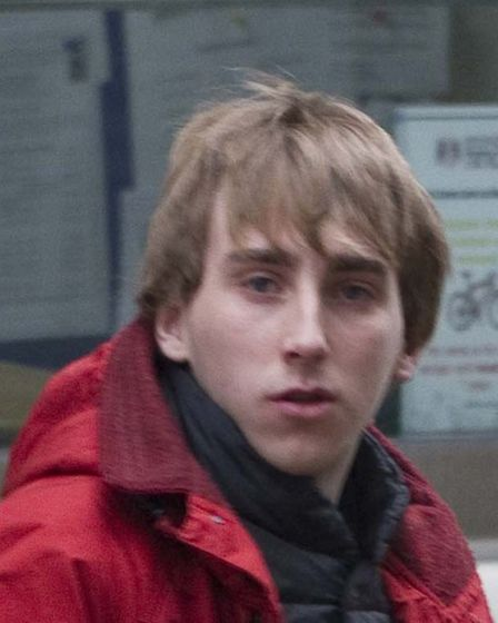 Pic shows - Zack Heaton, 20 leaving Blackfriar's Crown Court.